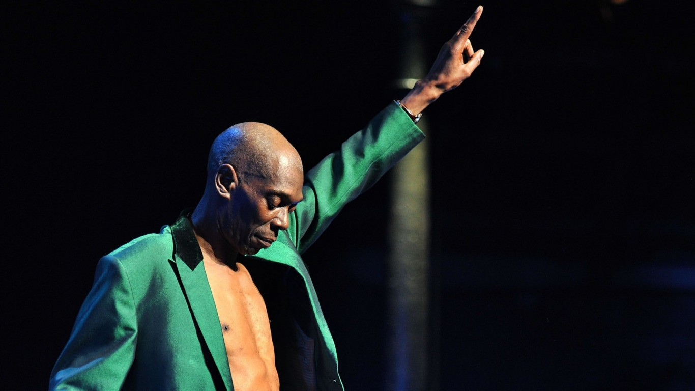 Maxi Jazz [Faithless] A personal DJ set